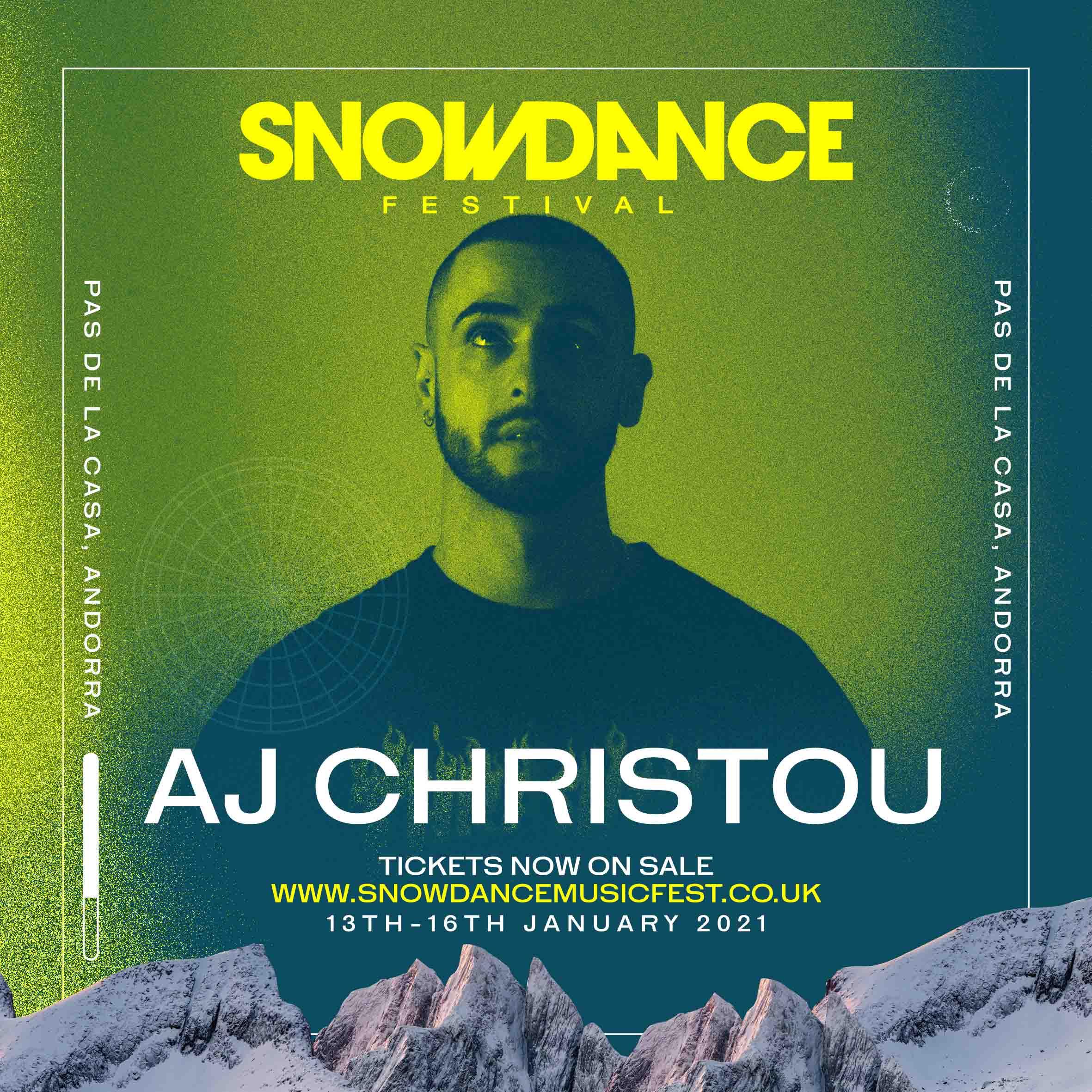 SnowDance festival AJ Christou